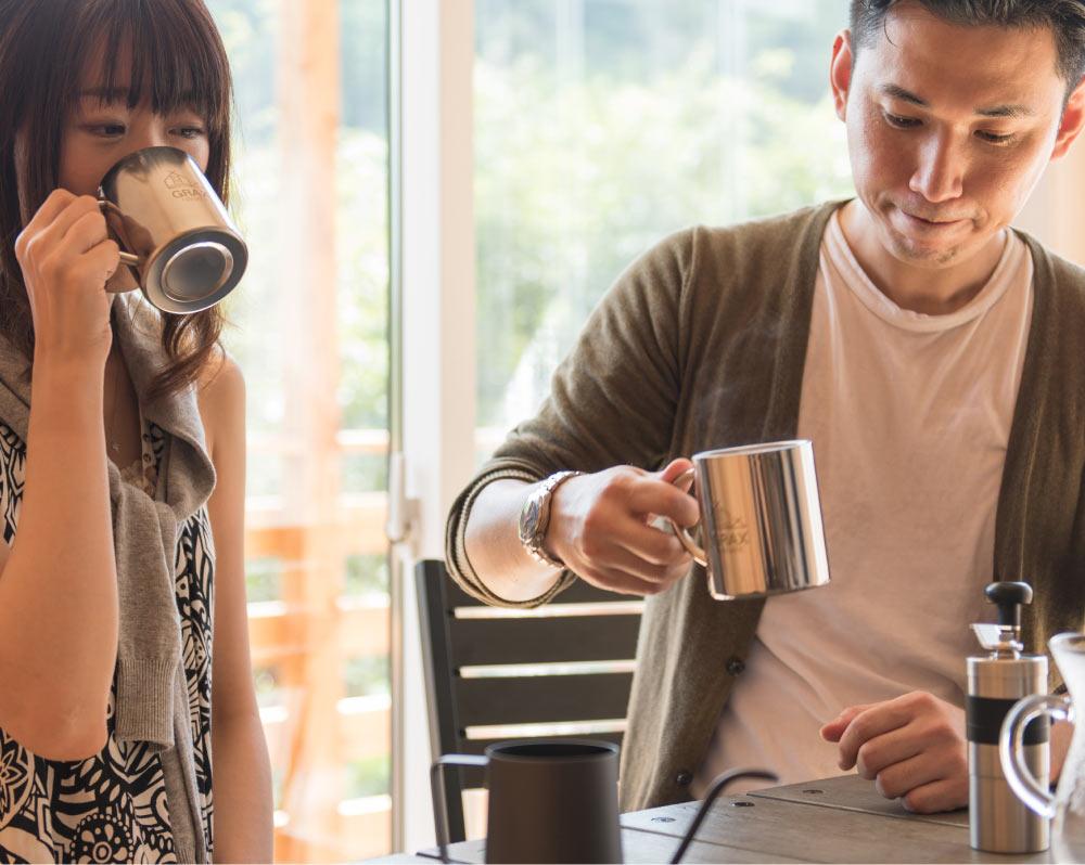GRAX HANARE グランピング・ヴァケーション・ヴィラ コーヒー